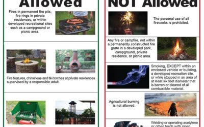 Montrose County Downgrades to Stage 1 Fire Restrictions