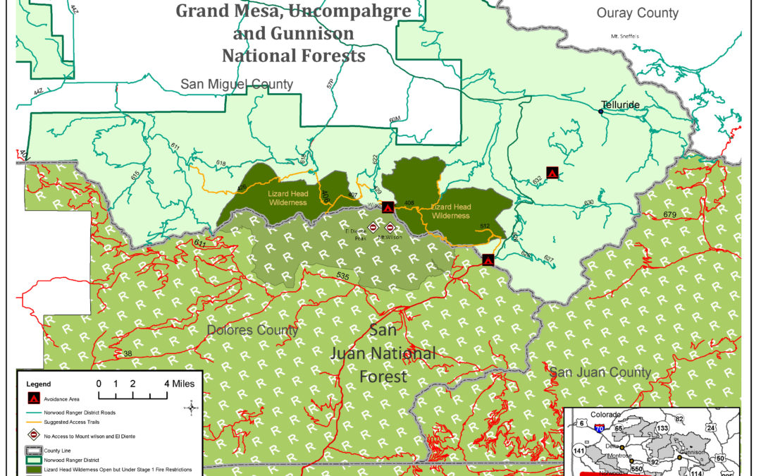 San Juan National Forest Closure and Impacts to the GMUG
