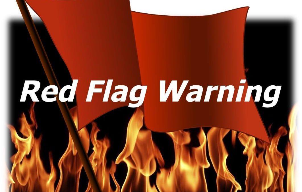 GMUG Red Flag Warning 6/18/18 11am – 8pm