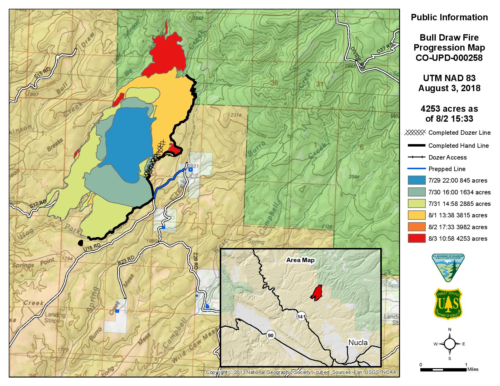 Bull Draw Fire Info and News | West Slope Fire Info