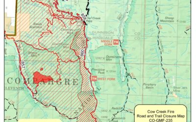 Cow Creek Fire Closure Order 10/17/19 3pm