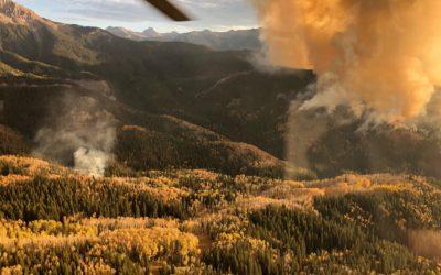 Cow Creek Fire – Spot Fire 10/17/19 7pm