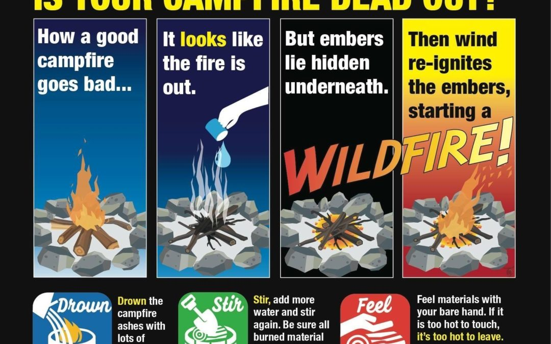 Counties and Public Land Agencies Offer Friendly Reminders on Best Practices for Preventing Wildfires