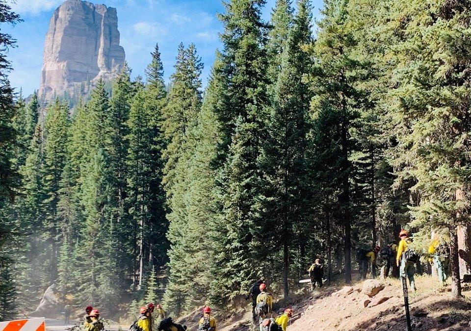 Cow Creek Fire 10/18/19 9am Update