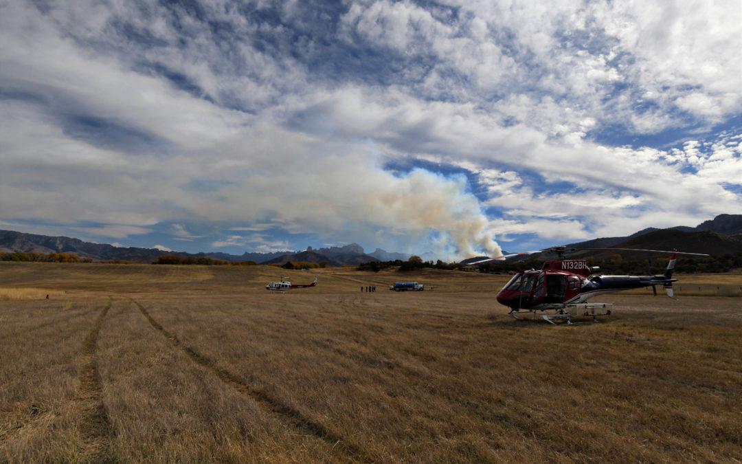Cow Creek Fire 10/20/19 10AM
