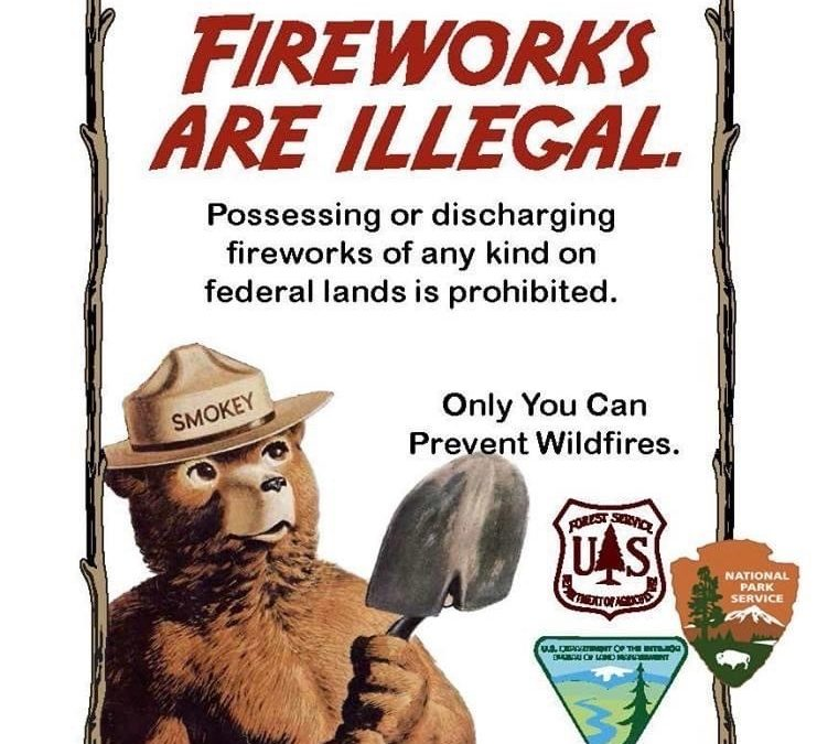 Fourth of July Weekend Wildfire Prevention Reminders from Public Land Agencies